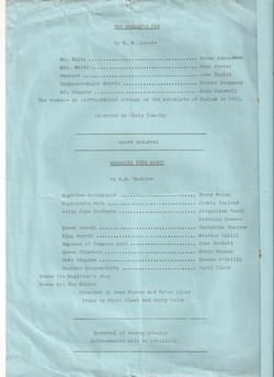 Programme A