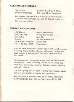 Programme 5