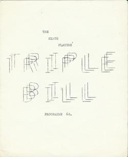 Heath Players Triple Bill