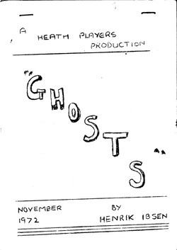 Ghosts programme 1