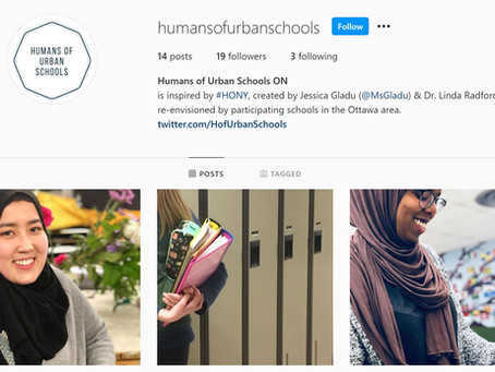 HUMANS OF URBAN SCHOOLS