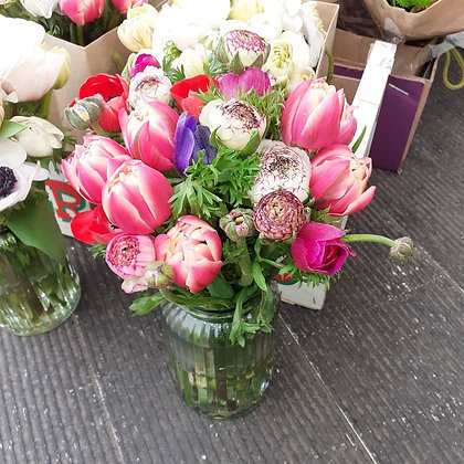 Mother's day bouquets (minimum 30 stems)