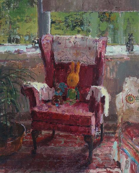 Yvonne`s Armchair.JPG
