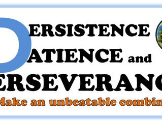 Patience & Preserverance
