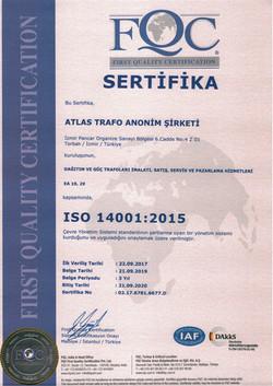 Atlas Iso 14001 2020