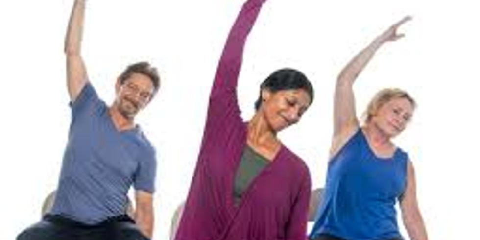 Chair Yoga - 8 Week Session (Tuesdays)