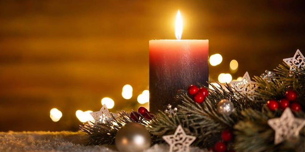 Candlelit Restorative Yoga for Holiday Peace