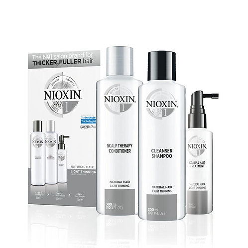 System 1 for Natural Hair, Light Thinning