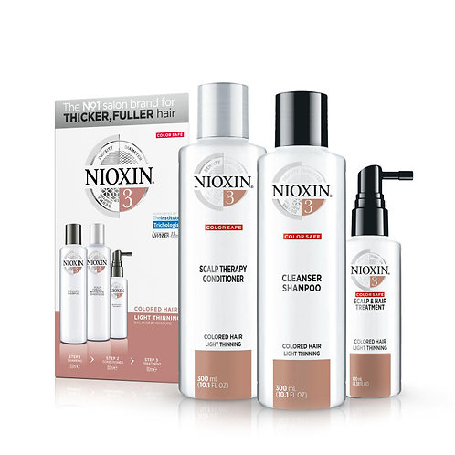 System 3 for Light Thinning on Coloured Hair