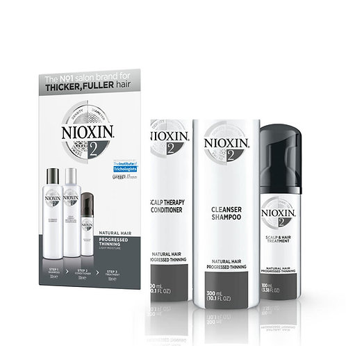 System 2 for Natural Progressed Thinning Hair