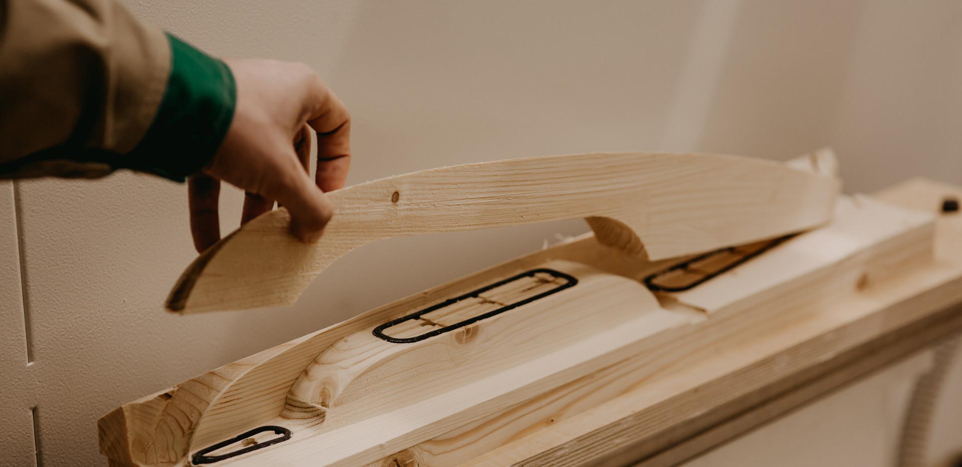 Slavita wood cut