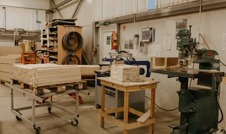 Slavita factory floor