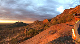 Morning on the Sonora Gold Property