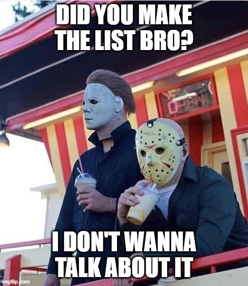 Horror Screenplay meme