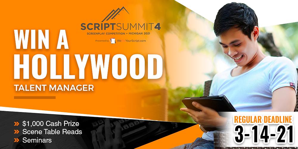 Script Summit Deadline graphic