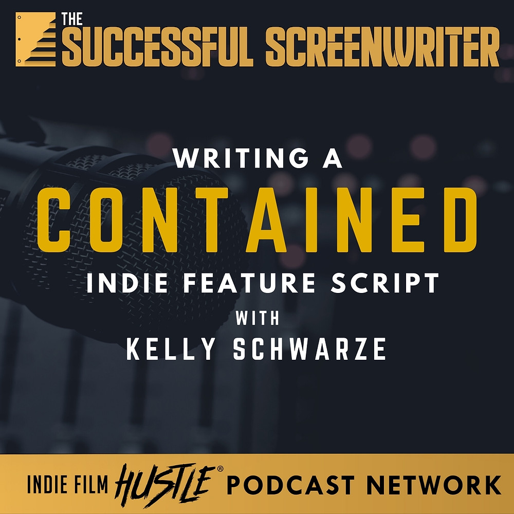 Writing a Contained Thriller Screenwriting Podcast Graphic