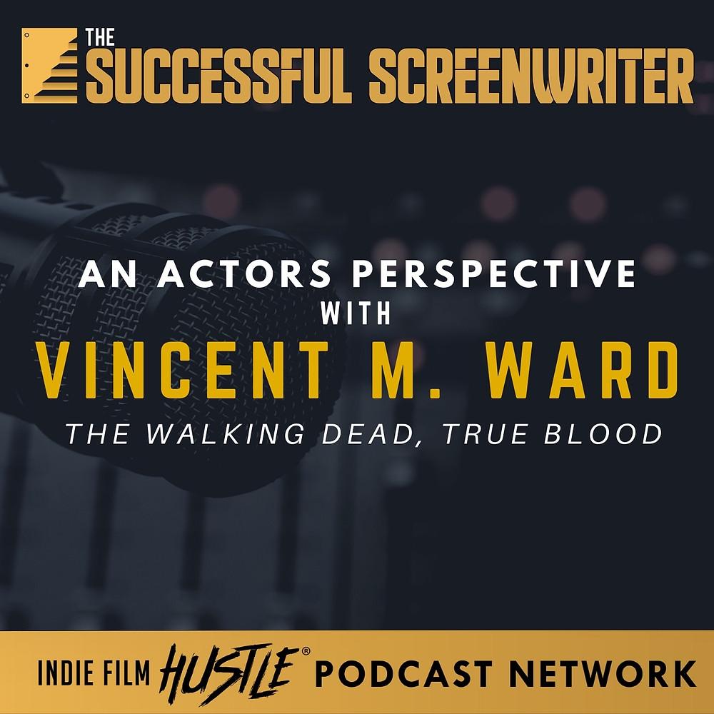 Vincent M Ward Podcast graphic