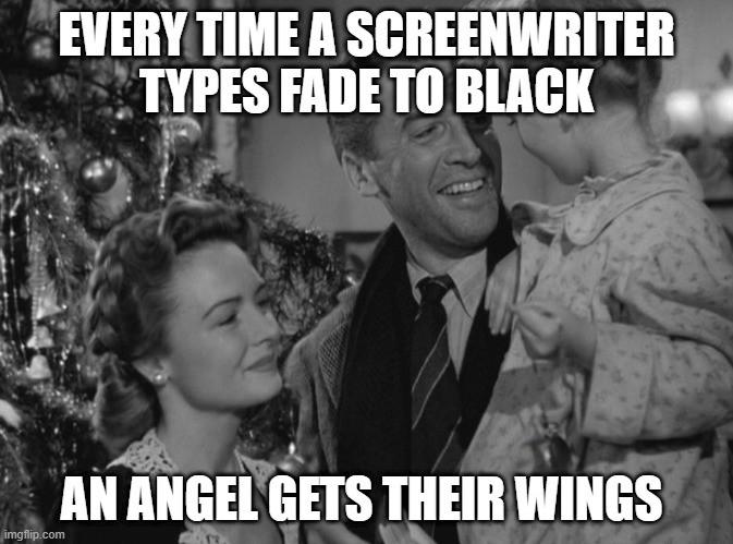 Its a wonderful life screenwriter meme
