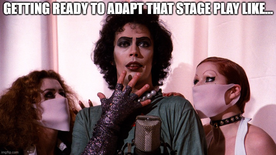 Rocky Horror Picture Show Stageplay Meme