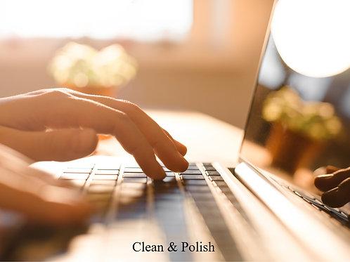 Script Clean & Polish