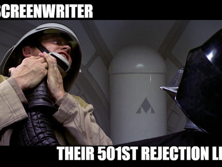 A Screenwriters Fear is their Fuel