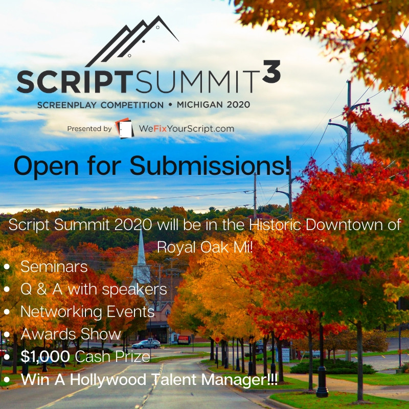 Script Summit Open for Submissions!