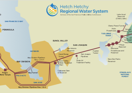 硅谷独享全美最优质水源(Yosemite雪融水)——旧金山、南湾饮用水源浅析