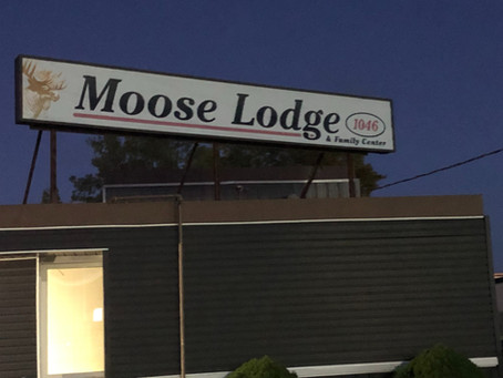 Moose Lodge gives back!
