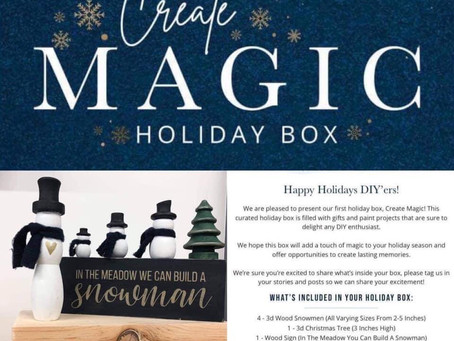 Magic Holiday Box