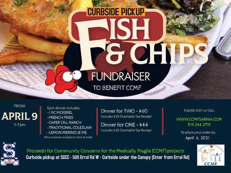 CCMF & SG&CC Meal Fundraiser