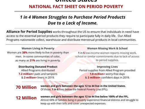 Why do we need a diaper & period products bank in the ArkLaTex?