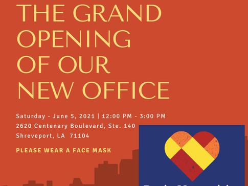 Grand Opening - Saturday, June 5, 2021