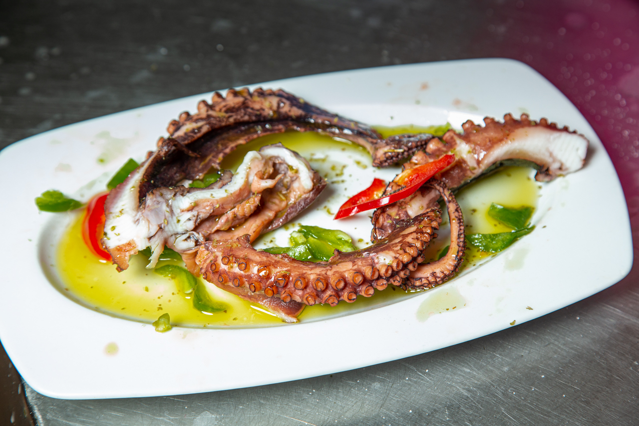 Traditional octopus recipe