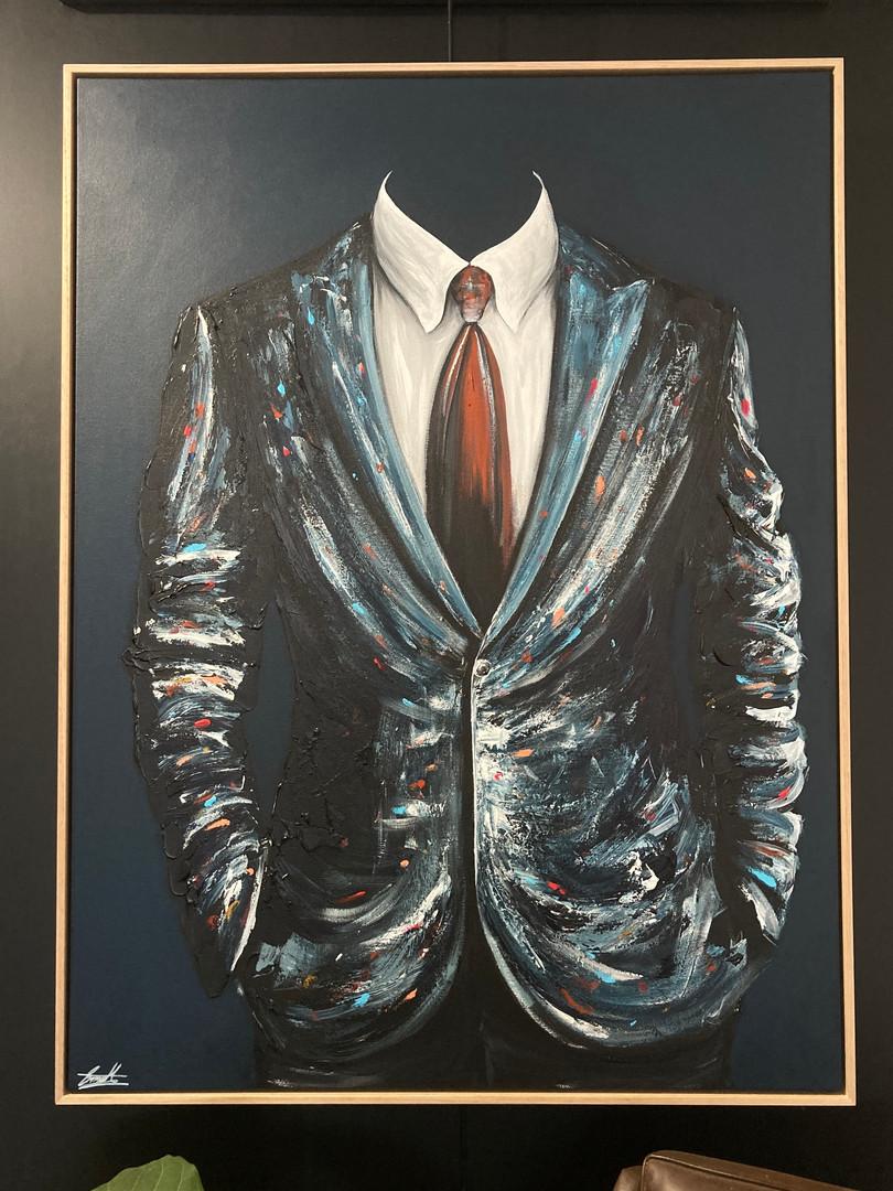 'Mr Debonair, blue'