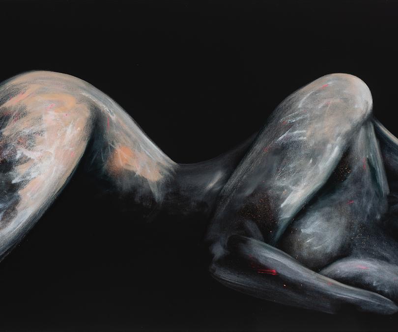 Midnight nude series