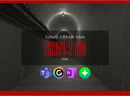 Cómo crear una escape room con genially y herramientas microsoft