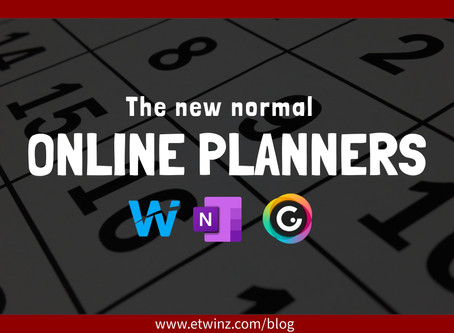 The new normal: Online Planners