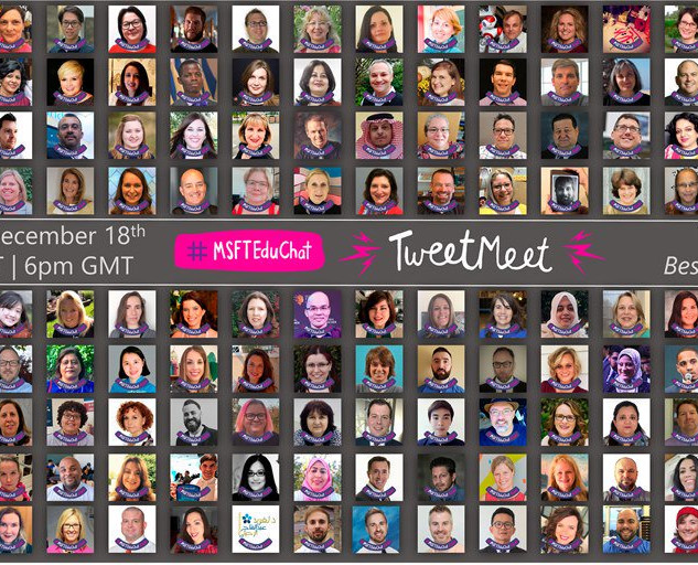 The eTwinz were invited to host the Best of 2018 Microsoft EDU Chat with the best educators around the planet.