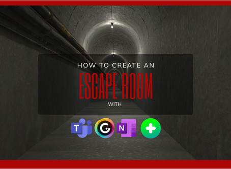 Create an escape room with genially and Microsoft tools