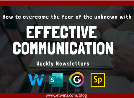 Weekly newsletters: Effective communication in the classroom