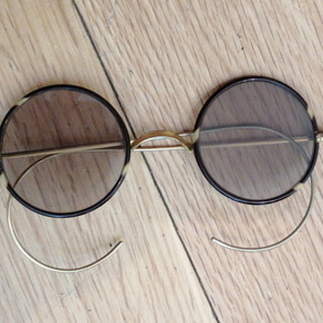 C1880-1920's Gold Filled Round Lens Sunglasses £125