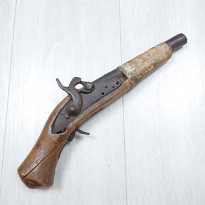A Converted Cut Down Musket Pistol