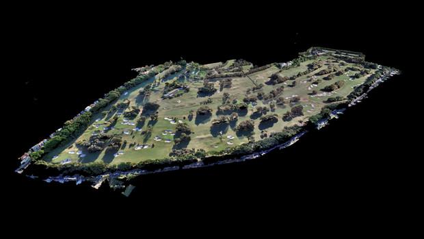 UAV Survey Photogrammetry Data