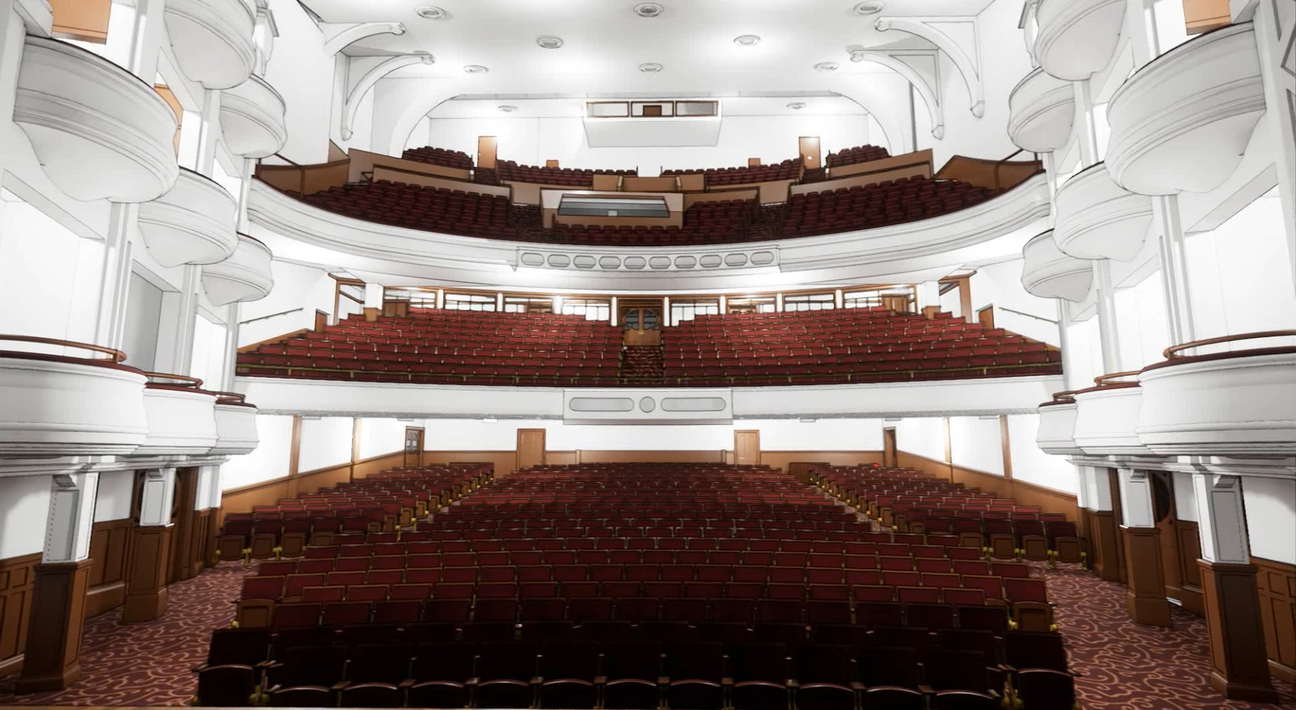 3D model - Auditorium