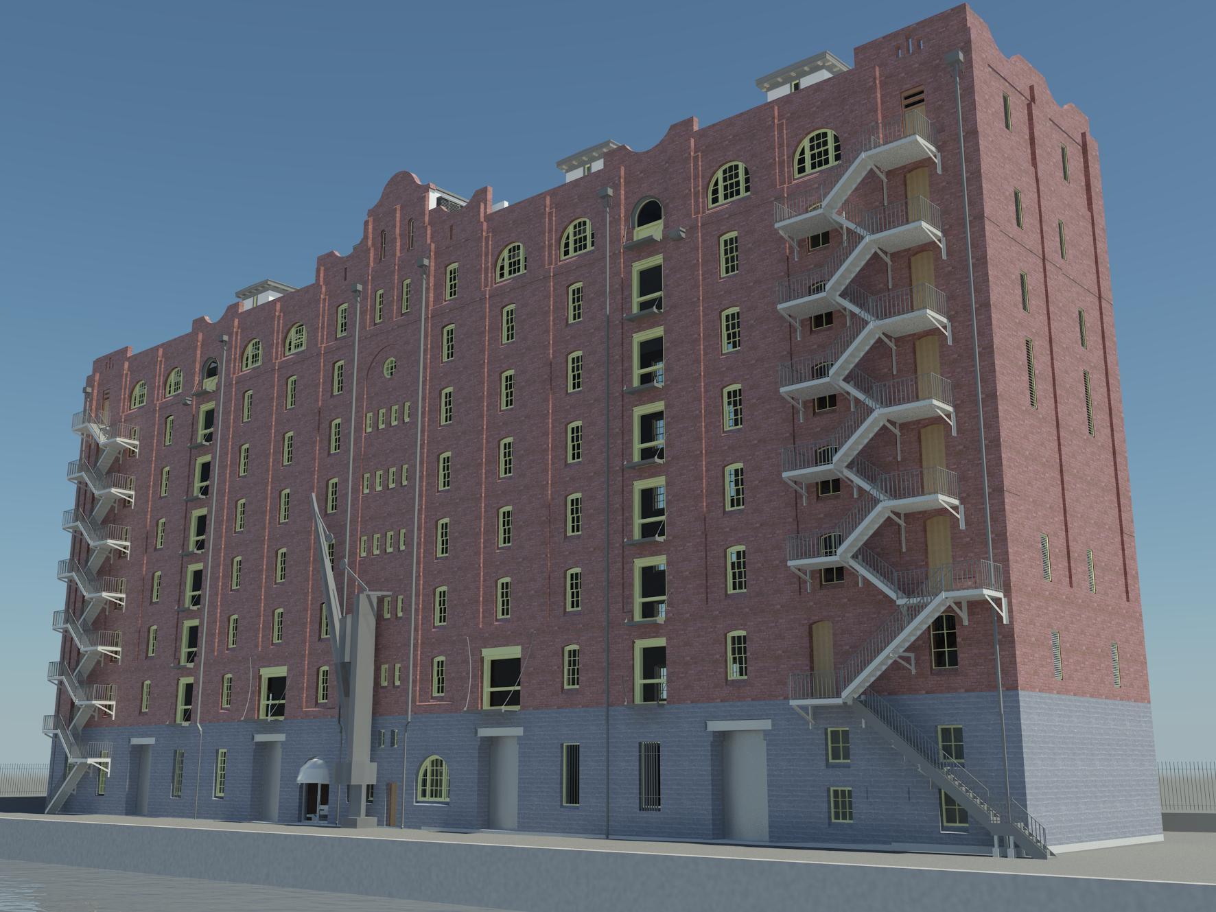 Heritage Model - Darling Harbour