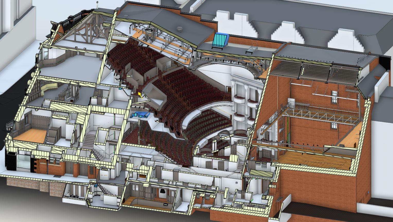 3D model section