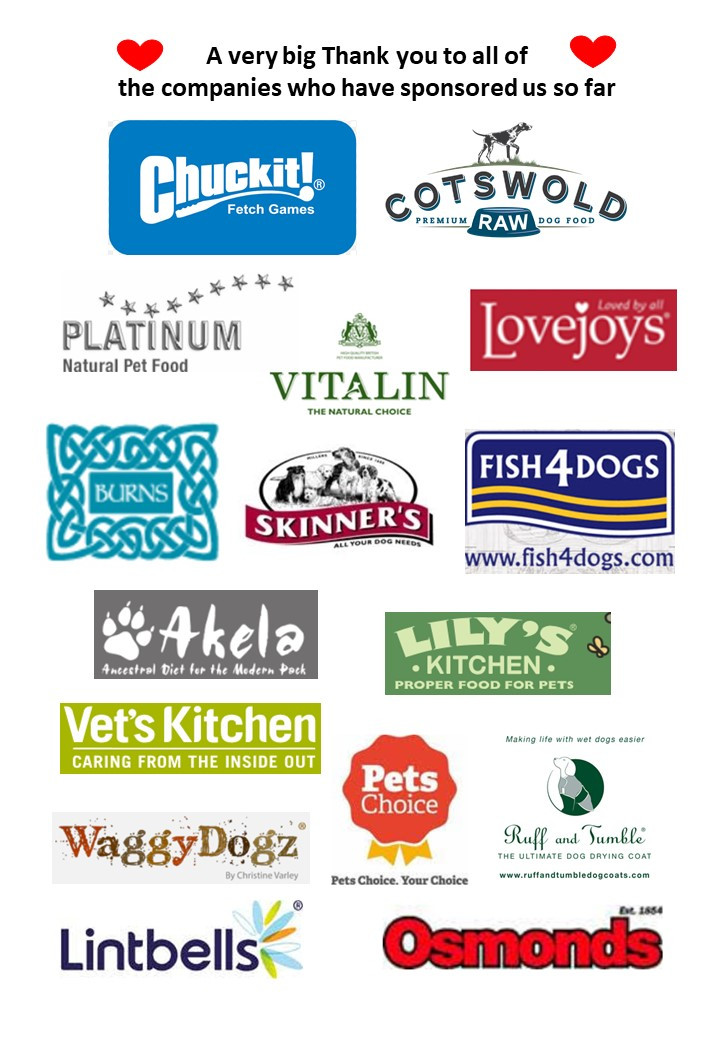 Sponsors of Oakington Dog Day Care Centre's Fun Dog Show