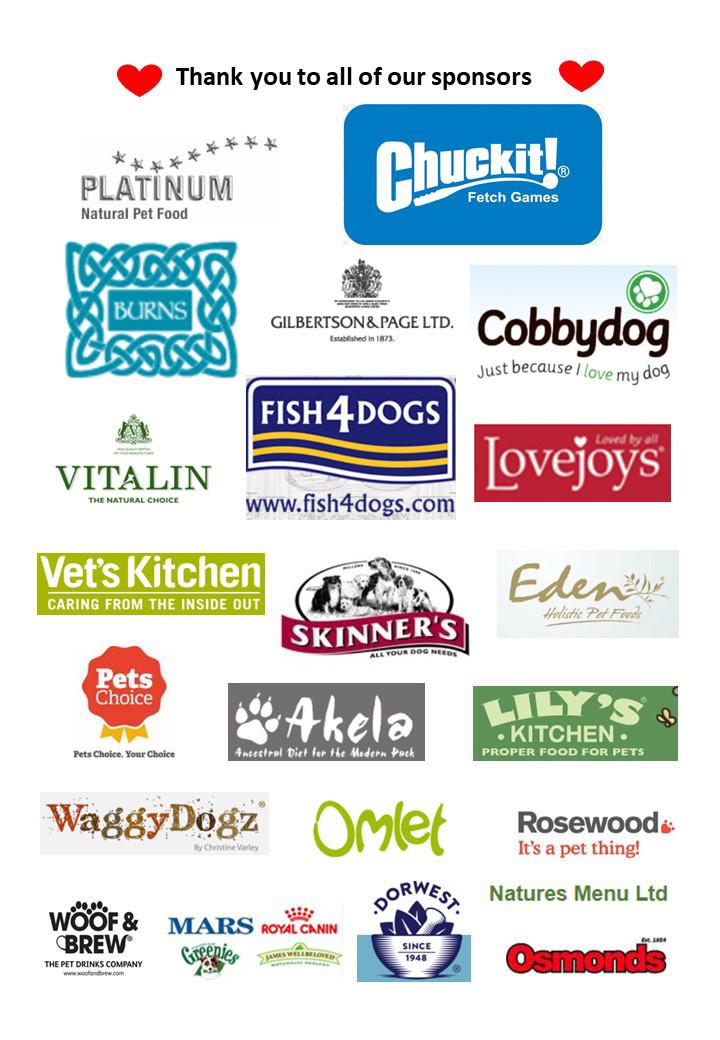 Oakington Dog Show Sponsors