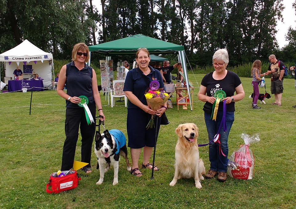 Dog Show at Oakington Dog Day Care Centre