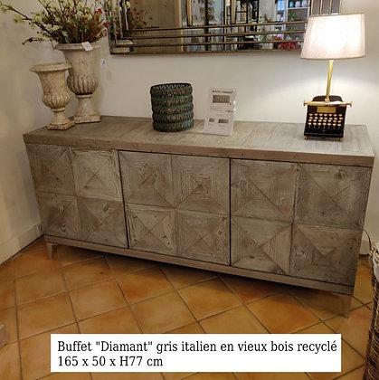 Buffet Diamant 3 Portes 165cm